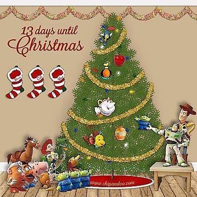 To Christmas and beyond... #DisneyWorld #ChipandCo #ChristmasCountdown