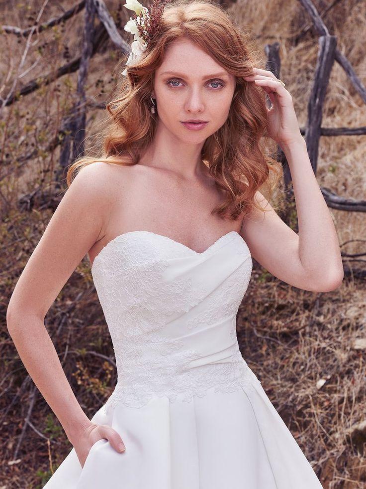37 best Simple Wedding Dresses images on Pinterest   Wedding frocks ...