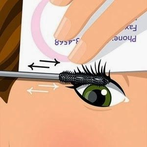 Make a $5 tube of mascara look as good as the results from a $25 tube by holding a business card up along the inside edge of your lashes and sweeping the brush against it with your other hand. This way your lashes can't bend out of the way of the brush and you end up coating every lash all the way to the tip. The results will leave you wide-eyed in more ways than one.