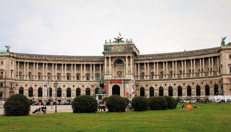 Hofburg palace fassade - Vienna.