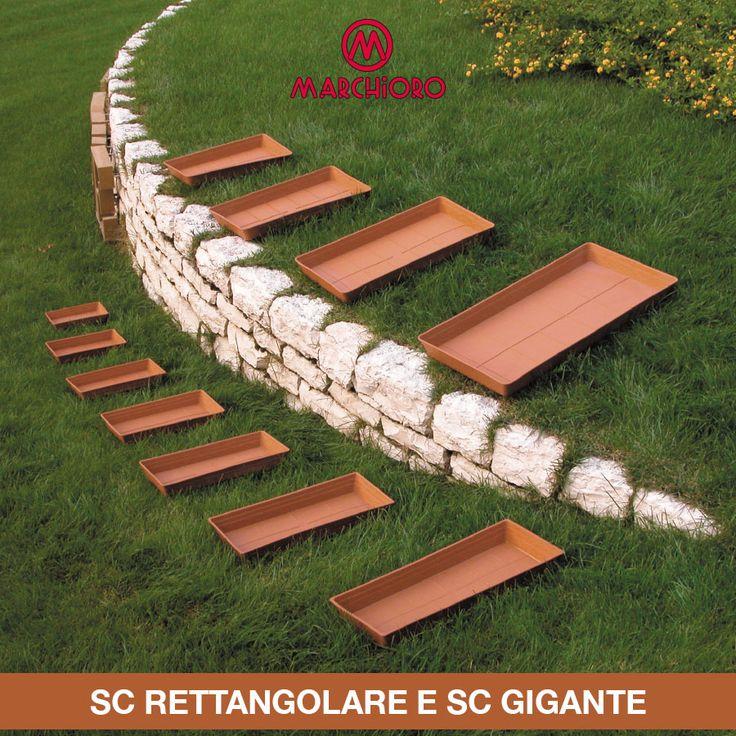 #SOTTOVASI  Sc Rettangolare & Sc Gigante  #marchioro #lineagarden