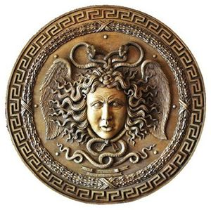 The name of Zeus and Athena's shield was named aegis. Which means protection in the english language.