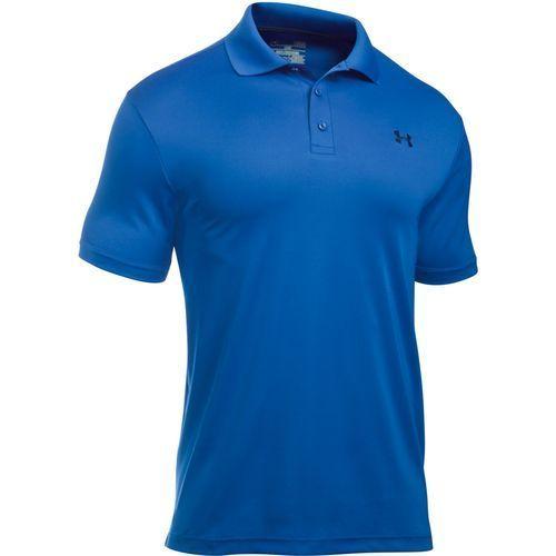 Under Armour Men's Performance Polo Shirt Blue Bright 04 - Golf Apparel, Men's Golf Shirts at Academy Sports