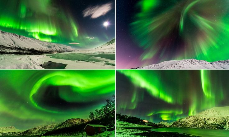 Photographer spends eight hours a night to capture Northern Lights