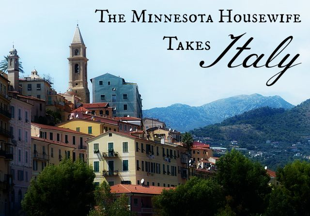 Minnesota Housewife Takes Italy - tips and lessons for Americans touring Italy