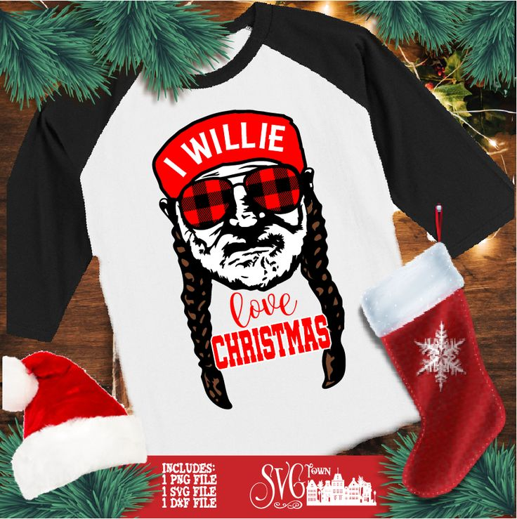 Download I Willie Love Christmas - SVG Design Silhouette, Cricut or ...