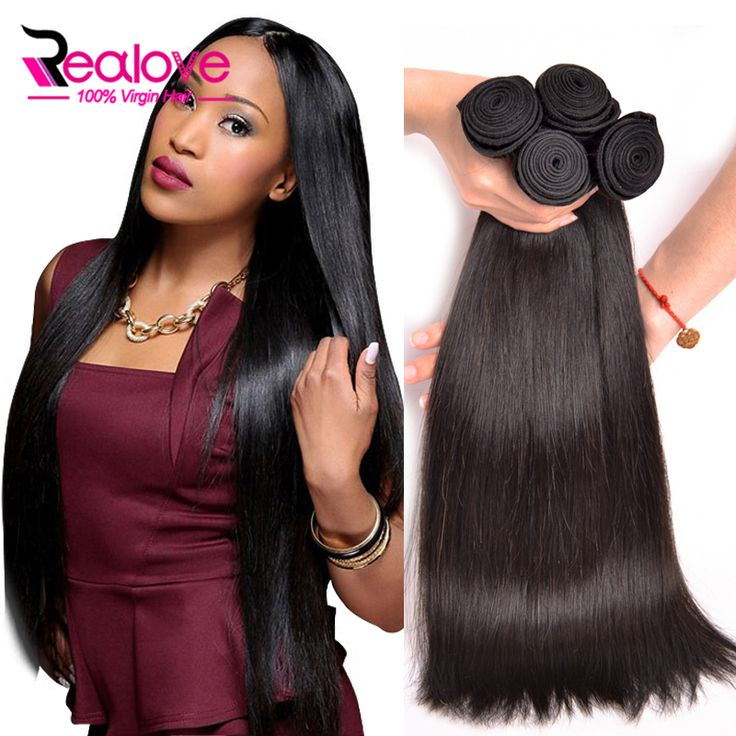 Hair Weaving 4 Bundles Malaysian Virgin Hair Straight 7A Malaysian Straight Hair 100% Human Hair Bundles Top Malaysian Straight Virgin Hair ** AliExpress Affiliate's Pin. Detailed information can be found by clicking on the VISIT button