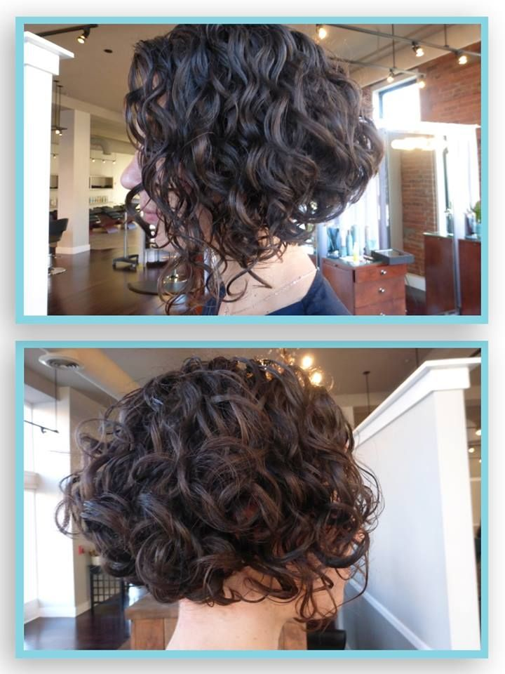 inverted bob hairstyles for curly hair