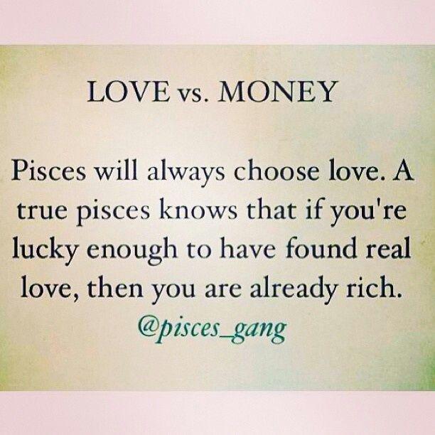 essay about love vs money