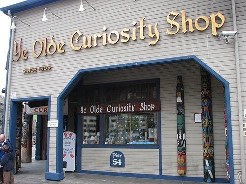 Ye Olde Curiosity Shop in Seattle