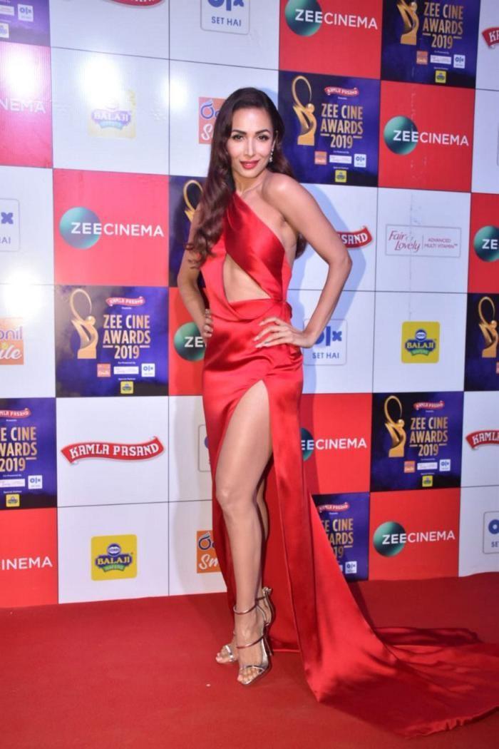 Malaika Arora Walks The Red Carpet At The Zee Cine Awards Bollywood Actress Hot Photos Indian Bollywood Actress Bollywood Actress Hot