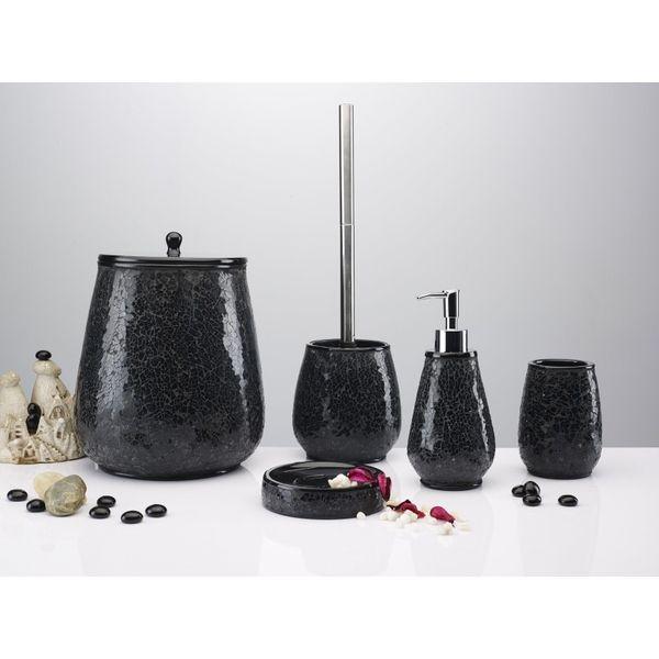 Inverno Damla Siyah 5 Parça Banyo Seti ürününü %33 indirimle hemen satın alın!