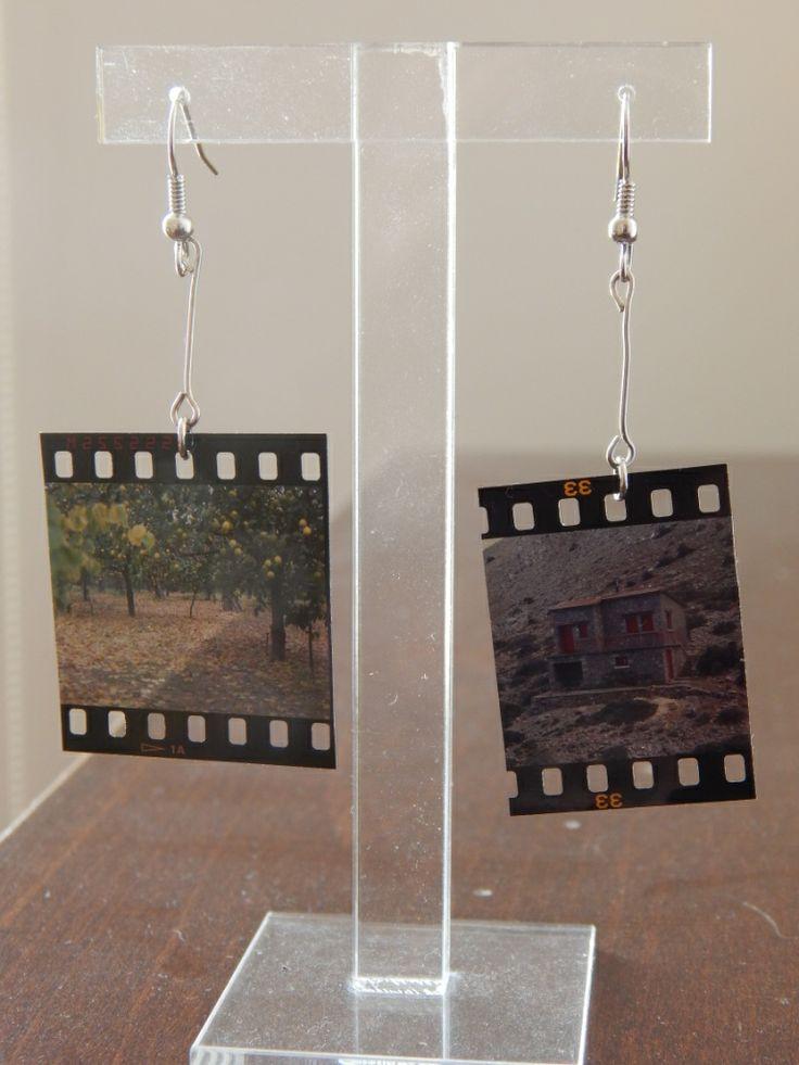 (104) Σκουλαρίκια σλάιτς με διάφορες εικόνες