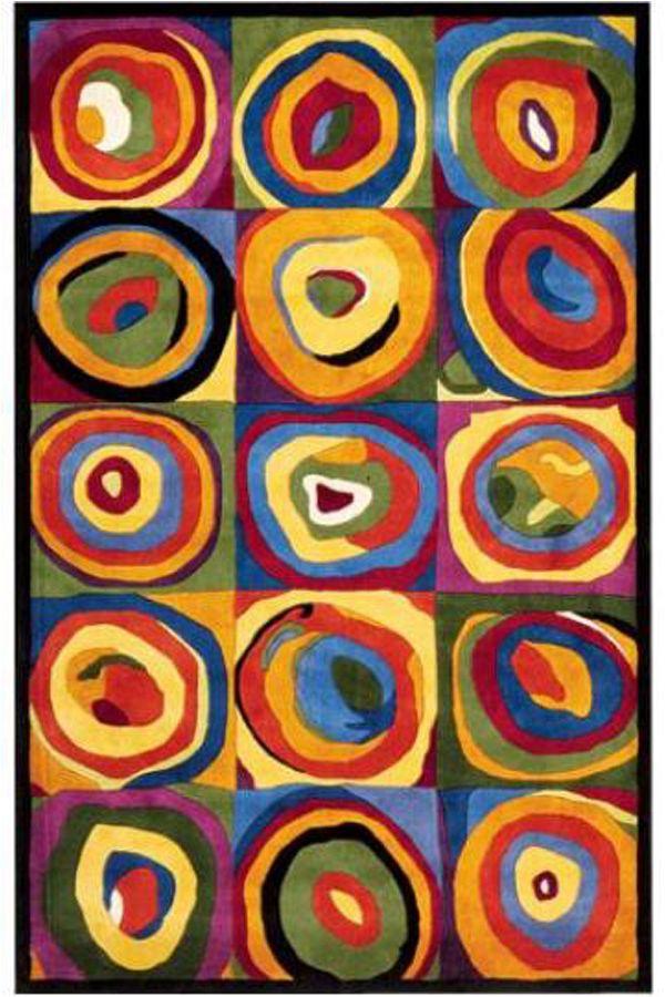 Incredibile Multicolore Bambini Tappeti KD-954250 X 300 CM ( 8'x10′ ) | Arts of India – Italy