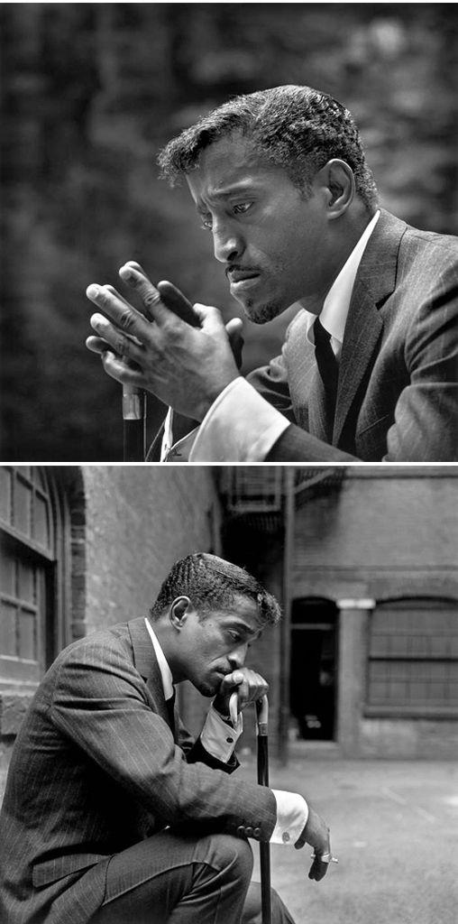 Sammy Davis Jr. by Philippe Halsman, 1965