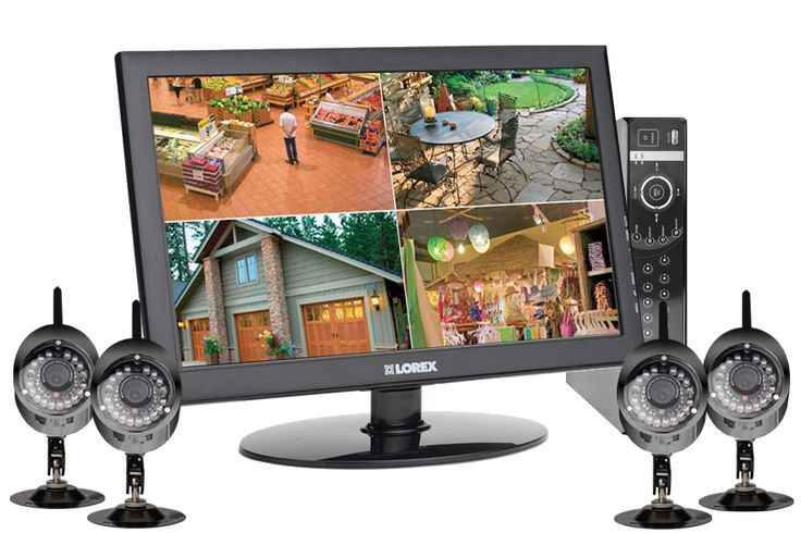 Perfect And Simple Wireless Security Camera System With