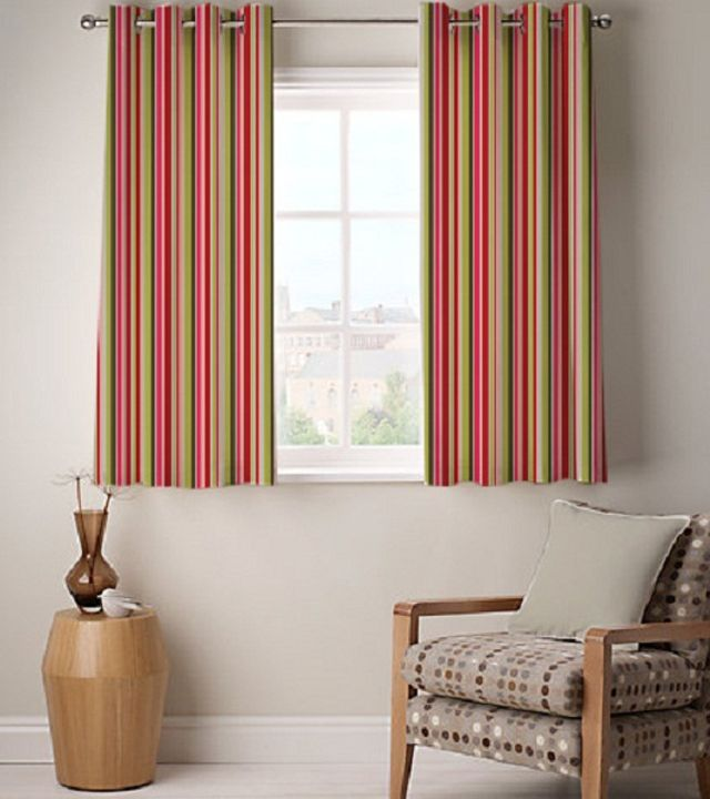 Multicoloured Cotton Striped Door Curtain #indianroots #homedecor #curtain #doorcurtain #cotton #striped