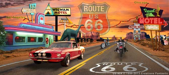 Backdrop US 024 Route 66