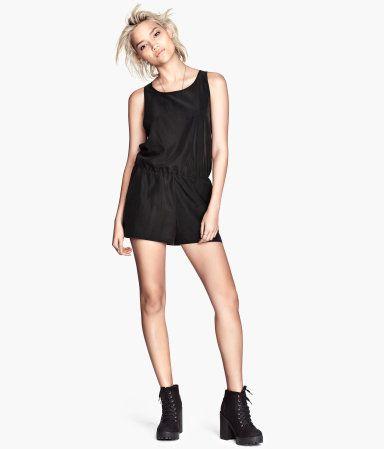 H&M Jumpsuit | Das kleine schwarze, Minikleid, Schwarzes kleid