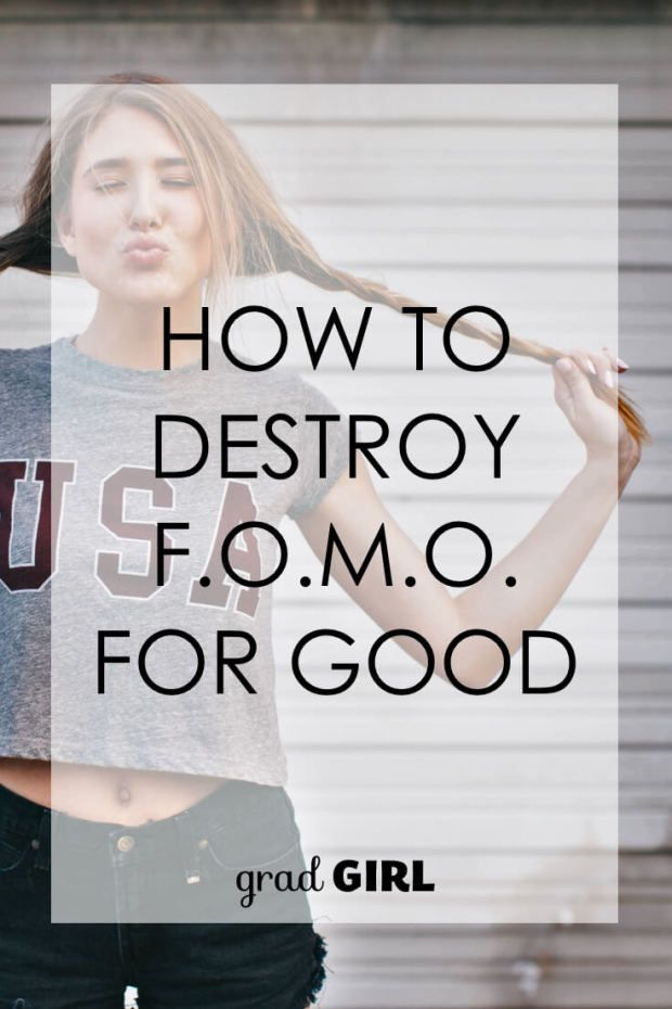 Your fear of missing out is destroying your happiness in the present moment. Here's your three-step system for destroying FOMO.