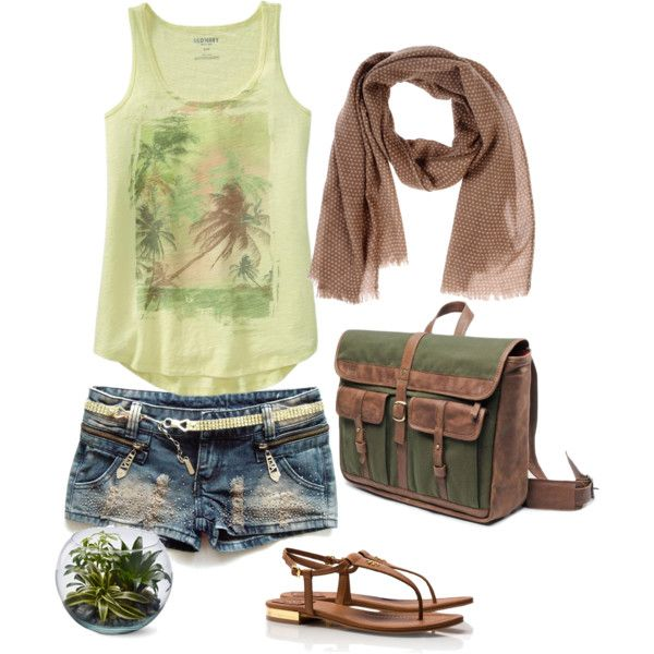 Tropical Adventure | Polyvore, Clothes and Hawaii outfits