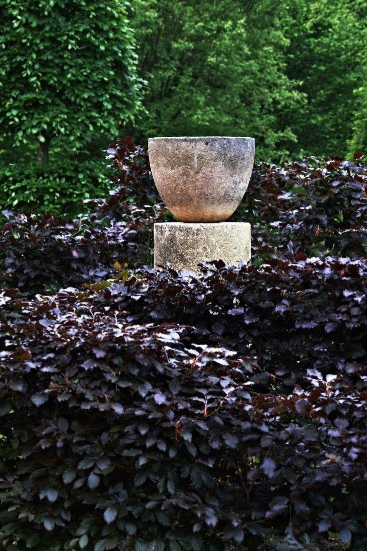 Arne Maynard garden copper beech; Gardenista