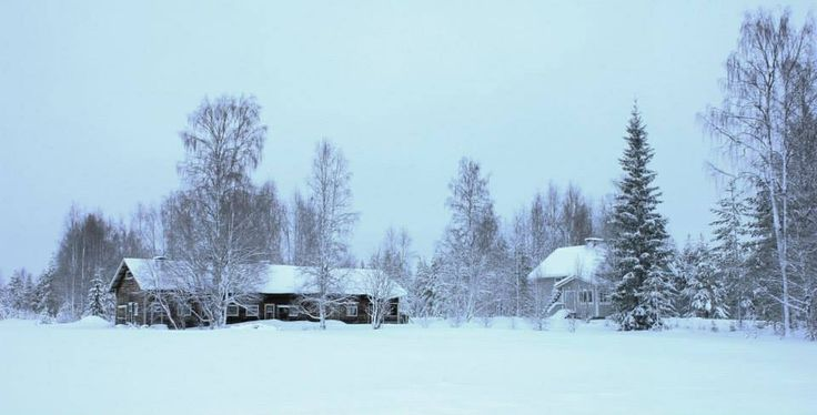 Snow in Finland :)