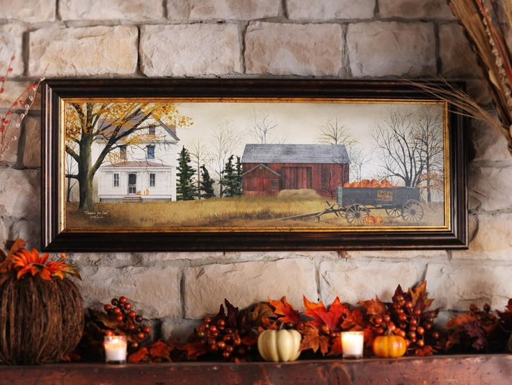 Home Decor For Sale: The Pumpkins For Sale Framed Art Print Is A Beautiful