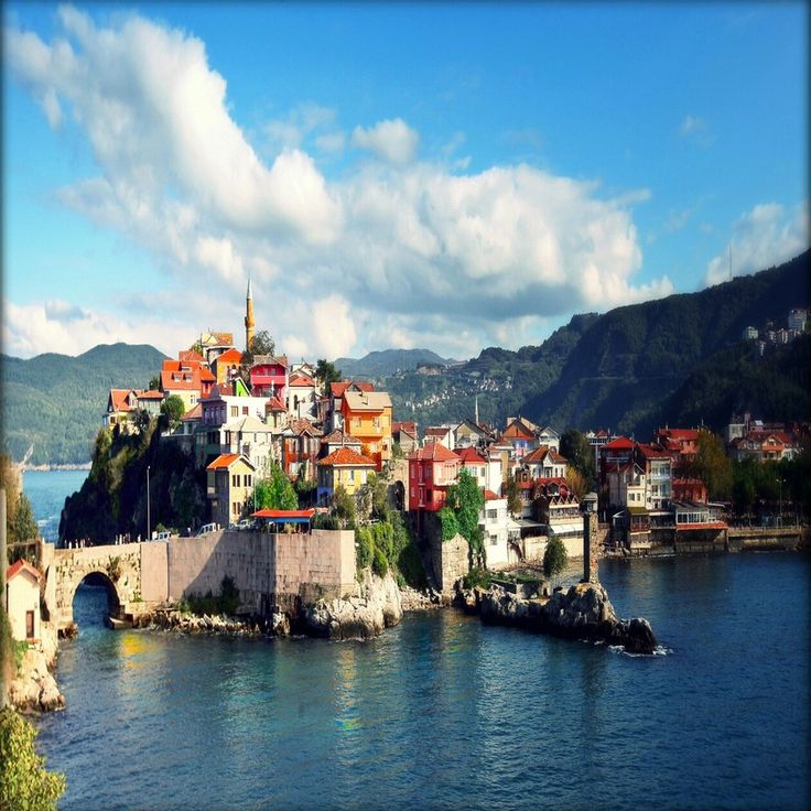 ~Amasra, Turkey is a charming fishing town rich with history and outdoor activities. The town is built on a peninsula beneath the ramparts of a citadel built by the Byzantines. #Amasra #Turkey