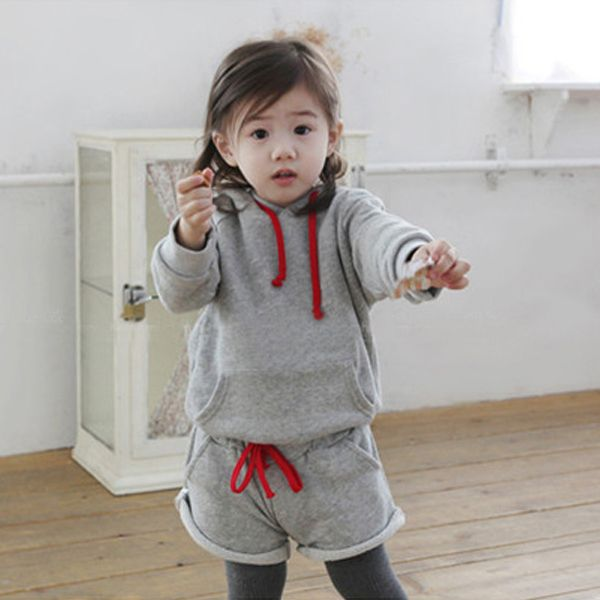 Cheap pants womens, Buy Quality sweater fashion directly from China sweater accessories Suppliers:Kids Girls 2PCS Set Hooded Sweater+Short Pants OutfitsColor: GrayMaterial: Cotton BlendsSleeve Style: Long SleeveSize de