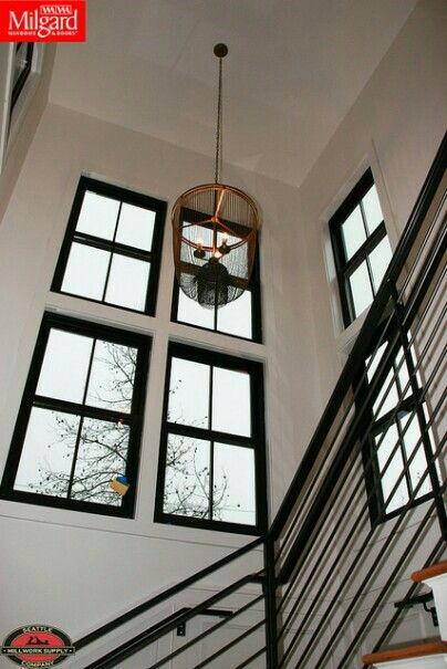 Milgard Ultra Fiberglass Windows Using Bronze Interior