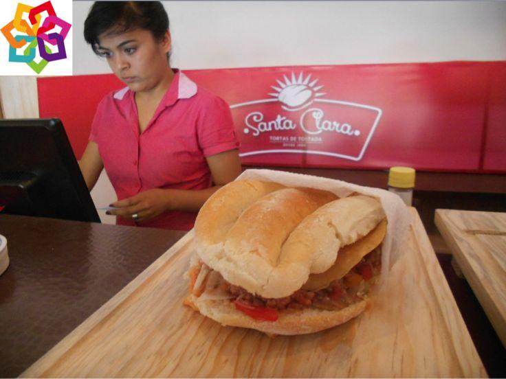 Michoacán te menciona: En Santa Clara del Cobre, la gastronomía es muy variada, por su gran tradición de conservar las recetas de sus antepasados, lo más típico son: Las Tortas de Tostada, están hechas a base de un guisado con una tortilla frita colocados en medio de un bolillo.