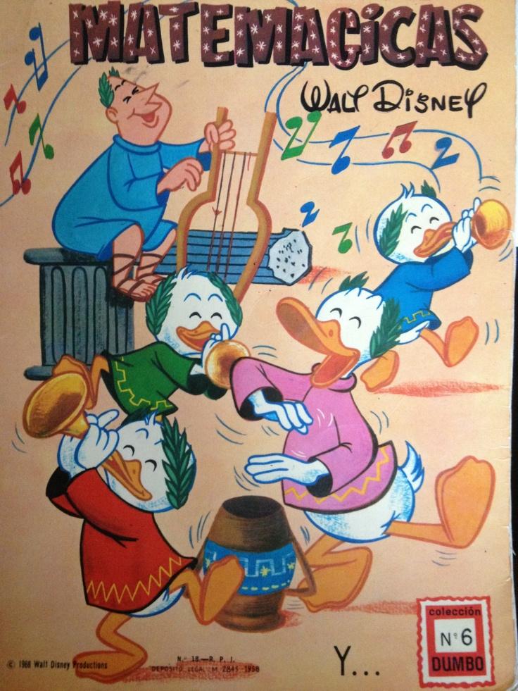 Donald en el país de las Matemágicas, es un álbum inolvidable, y que he usado…