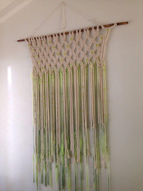Bohemian Macrame Wall Hanging Weaving M A C R A M 232