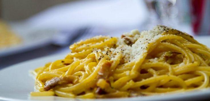 Pasta carbonara med salsiccia!
