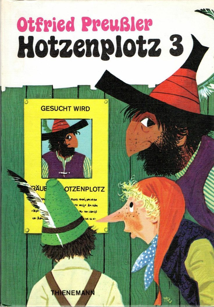 """Der Räuber Hotzenplotz 3"" Otfried Preußler  ERSTAUSGABE 1973   eBay"