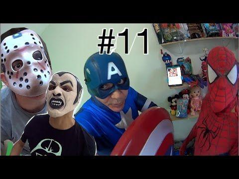 #11 Homem Aranha Spider-Man Capitão América Marvel Vingadores ATAQUE d J...