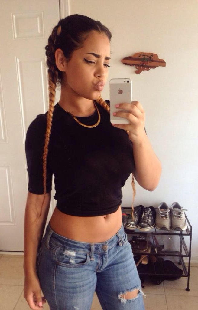 119 Best French Braid With Extensions Images On Pinterest | Hair Dos African Hairstyles And ...
