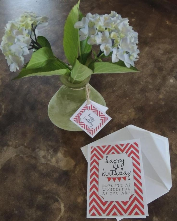 Cute, Easy and Inexpensive Birthday Gift