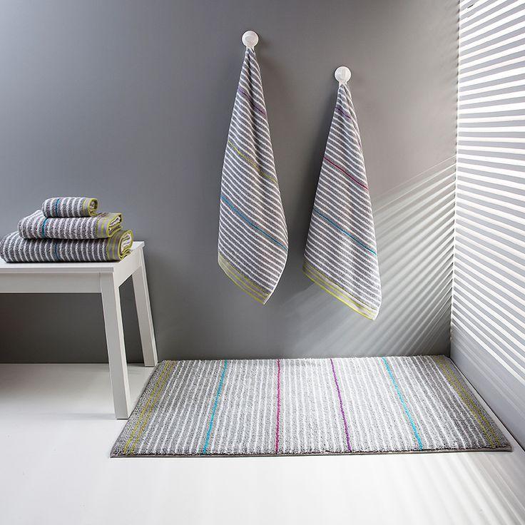 Drop bath rug. 100% cotton