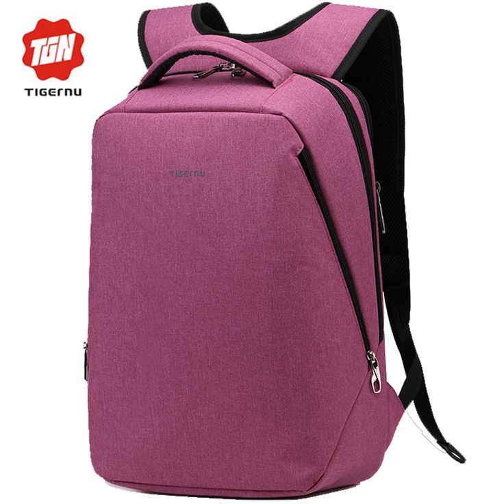 """2017 Tigernu Brand Cool Urban Backpack Men USB Charging Light Slim Minimalist Fashion Women Backpack 14""""- 17"""" Laptop Backpack *** Nazhmite na izobrazheniye dlya polucheniya dopolnitel'noy informatsii."""