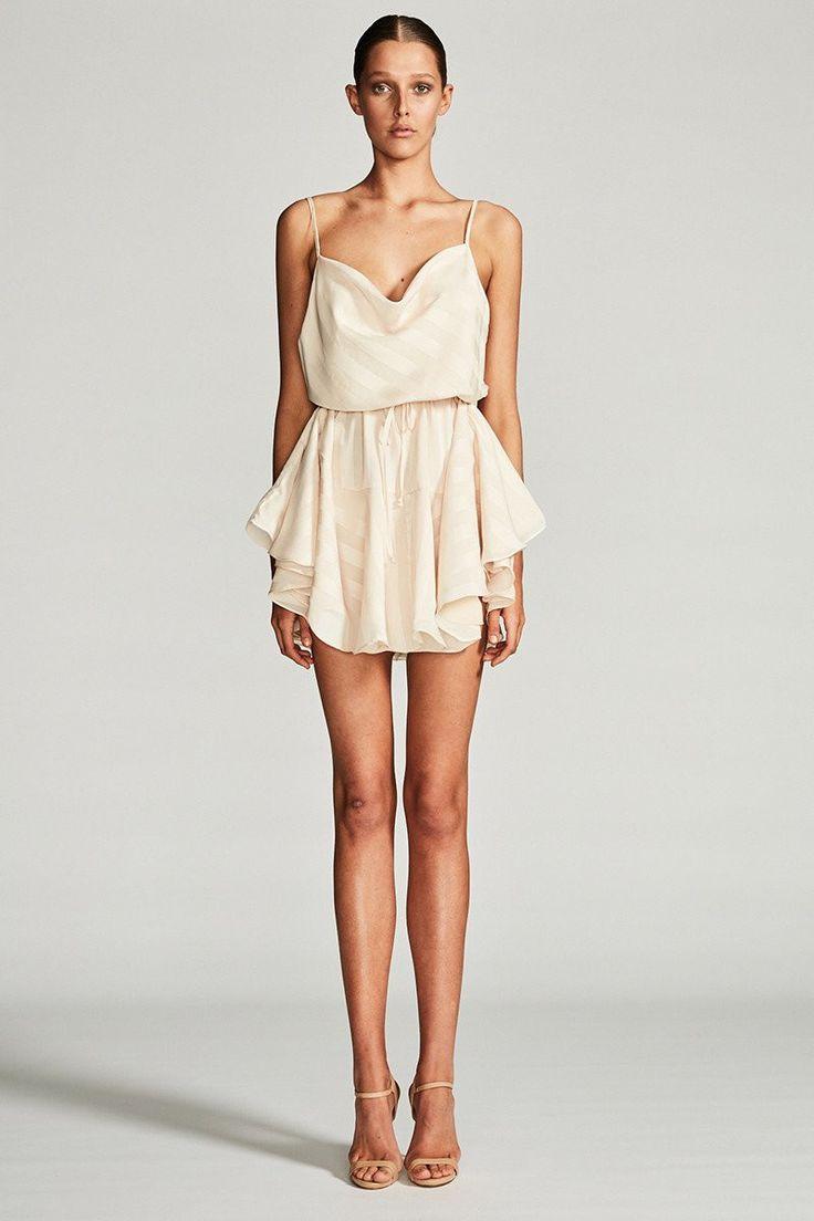 Shona Joy - Andromeda Cowl Mini Dress