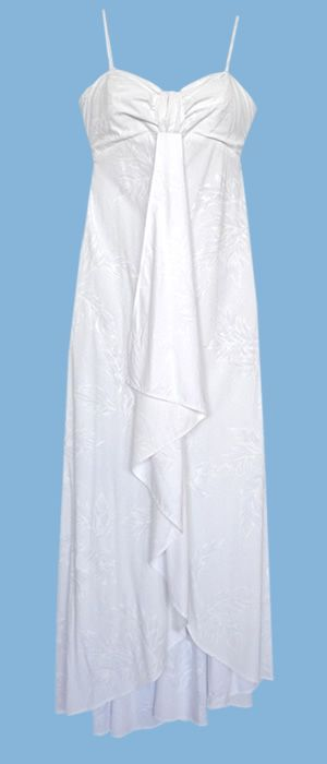 beach wedding hawaiian dress