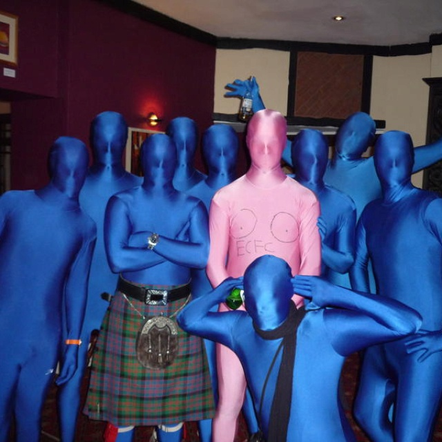 Stag do #morphsuit