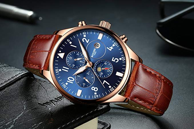 Amazon Com Boyzhe Luxury Brand Men S Automatic Mechanical Watches