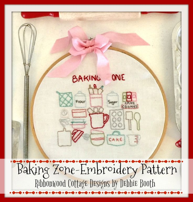 A personal favorite from my Etsy shop https://www.etsy.com/listing/501818288/baking-zone-embroidery-pattern-pdf