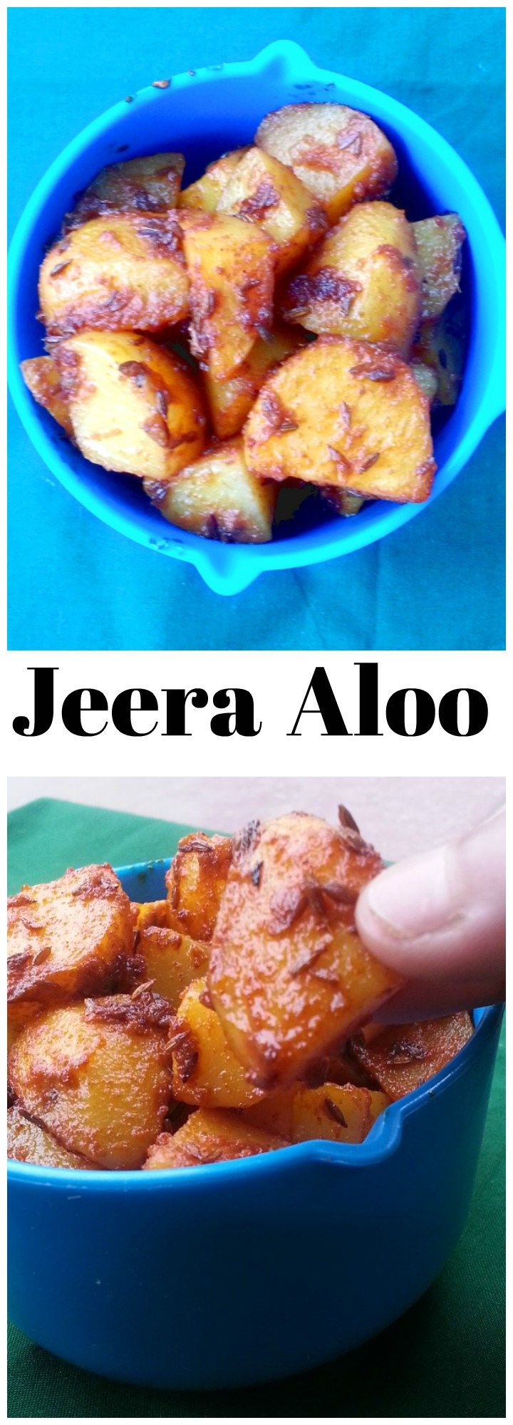 Aloo Jeera Recipe - Par boiled potatoes tossed with lots of cumin seeds. An…