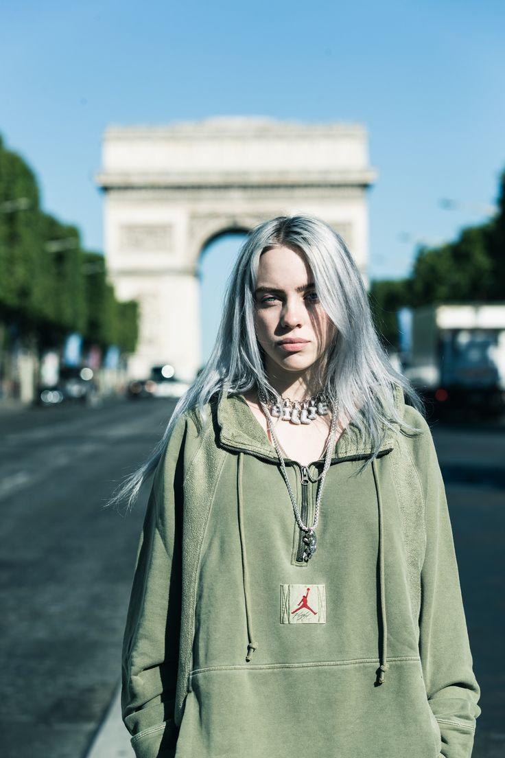 eilish's runway for paris fashion week  billie billie