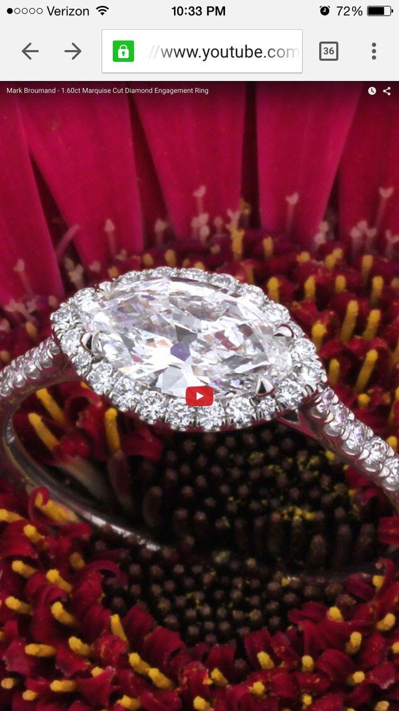 Carat cushion cut diamond engagement ring thin band youtube - Https Www Youtube Com Embed Fz65n Ji41k