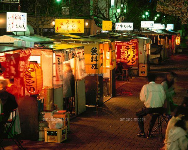 中洲屋台通り 博多 福岡県 (c)YOSHIO TOMII/orion